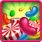2048 Candy Swipe Tiles Icon