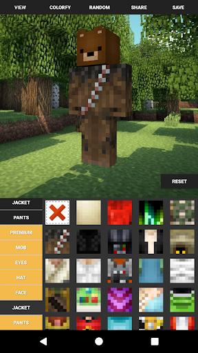 Custom Skin Creator For Minecraft  screenshots 5