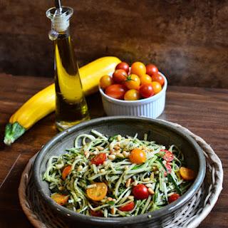 Pesto Zucchini Noodles Recipe