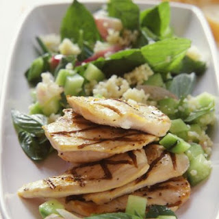 Chicken with Mint and Couscous