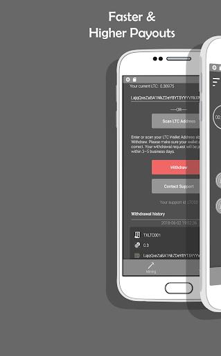 LTC Miner - Get Free Litecoin screenshot 1