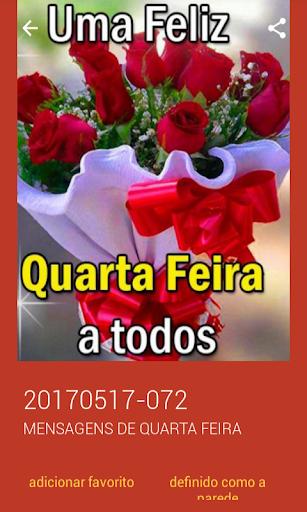Mensagens de Quarta Feira 2.0.0.0 screenshots 8