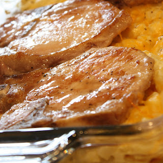 Pork Chop and Hashbrown Casserole Recipe