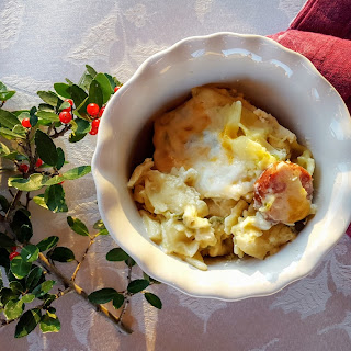 Green Chili Mac 'n Cheese with Andouille Sausage