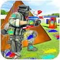 Paintball Gun Strike - Paintball Shooting Game icon