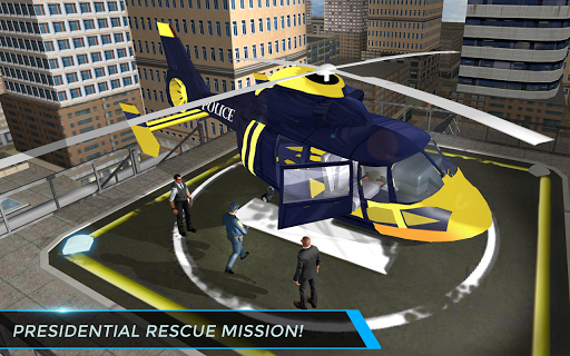 Real City Police Helicopter Games: Rescue Missions 4.0 screenshots 10