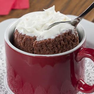 Red Velvet Mug Cake.