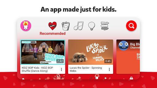 YouTube Kids 4.53.1 screenshots 1