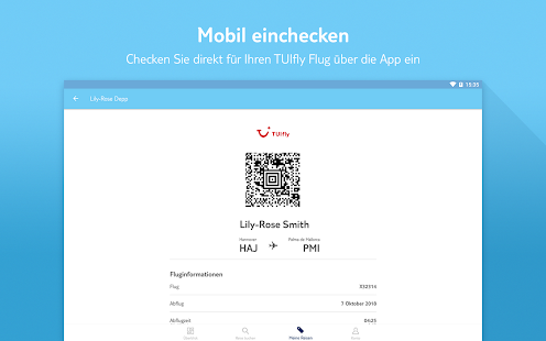 App MEINE TUI-Ihre Reise im Gepäck APK for Windows Phone