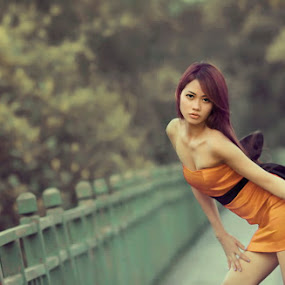 Infra red False Colour by Ifan Deviandri - People Portraits of Women