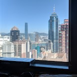 view from inside my penthouse airbnb rental downtown Hong Kong in Hong Kong, , Hong Kong SAR