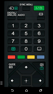 TV Remote for Sony TV (WiFi & IR remote control)
