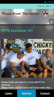 FFTG Radio- screenshot thumbnail