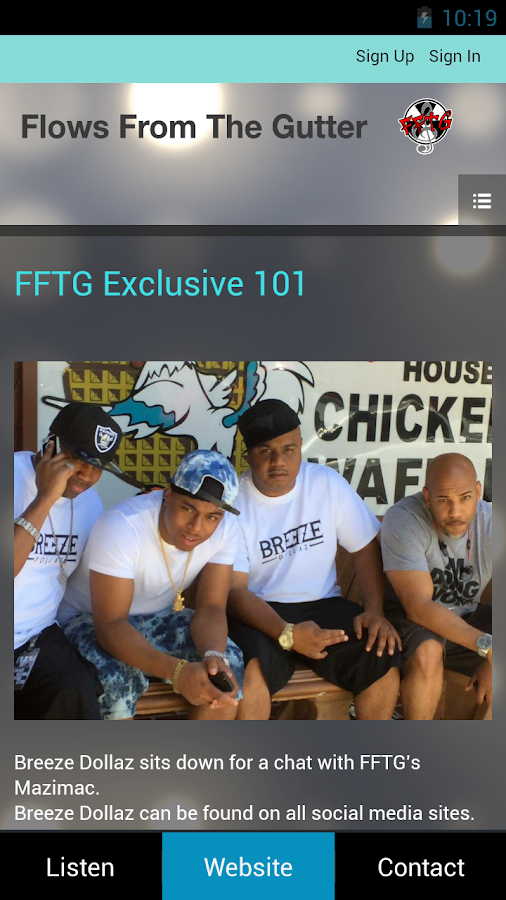 FFTG Radio- screenshot