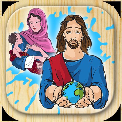 Bible coloring book 娛樂 App LOGO-APP開箱王