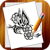 Learn To draw Mehndi
