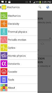 Physics Formulas Free 1