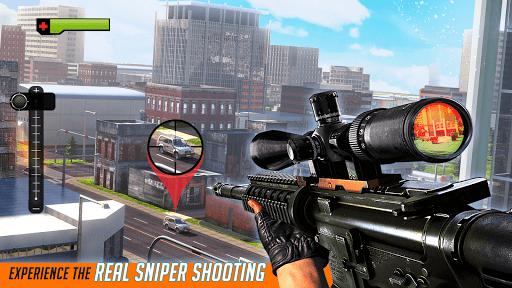 Télécharger Gratuit City Sniper Gun Shooter : Elite 3D Shooting Games APK MOD (Astuce) screenshots 5