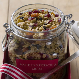Maple and Pistachio Granola