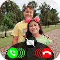 Maria Clara E JP Videocall Live Prank icon