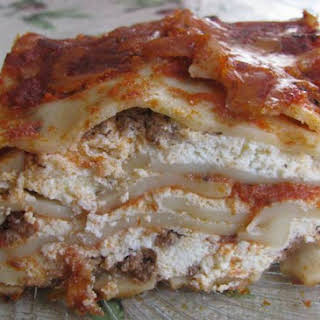 Lasagna With No Ricotta Or Cottage Cheese Recipes.