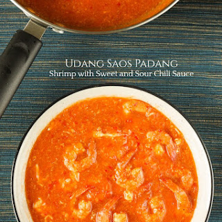 Udang Saos Padang - Shrimp with Sweet and Sour Chili Sauce Recipe