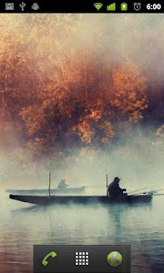 fishing lake live wallpaper screenshot 1