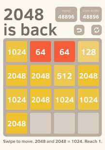 2048 is back - náhled