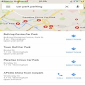 google maps nearby places