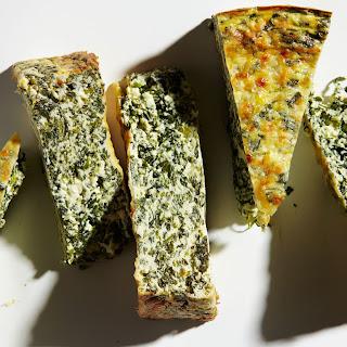Watercress and Ricotta Torte