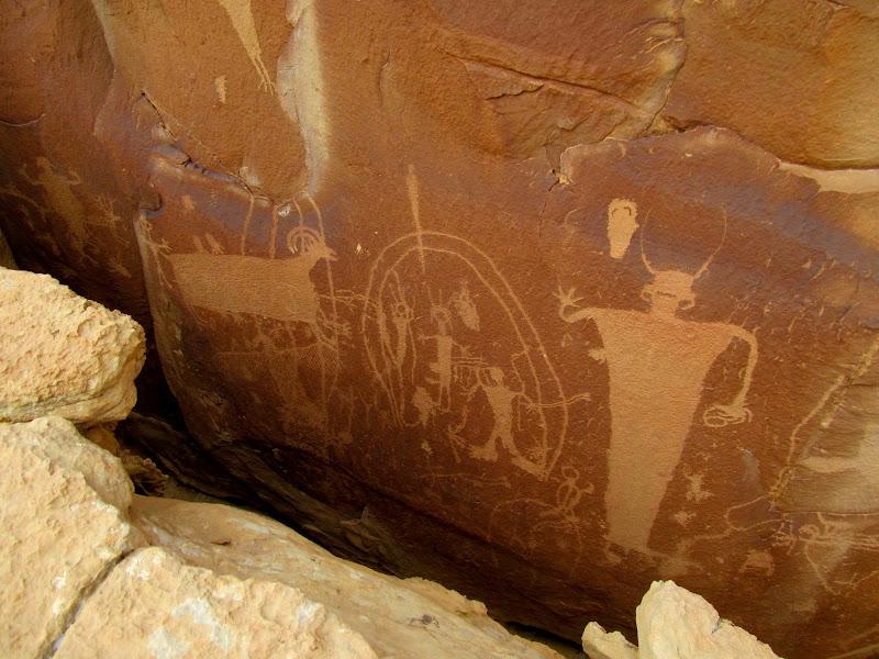 Photo: Split boulder panel