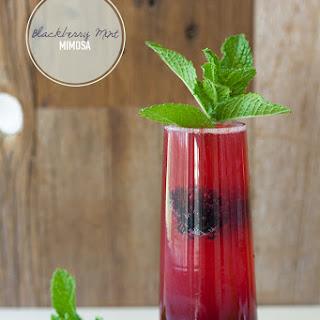 Blackberry Mint Mimosa