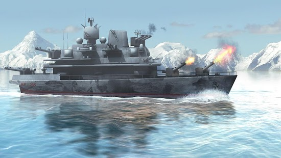 Naval Fury: Warship 3D- screenshot thumbnail