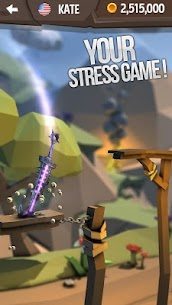 Flip Knife 3D: Knife Throwing Game 1.0.3 Android Mod + APK + Data 2
