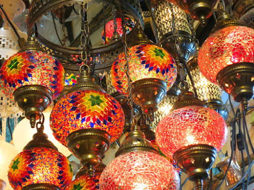 Turkish Lanterns Galore