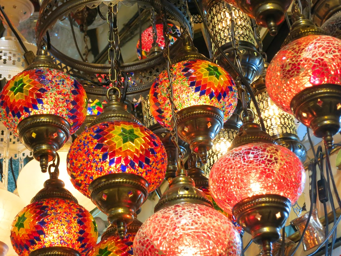 Turkish Lanterns Galore