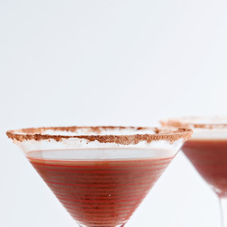 Vanilla Hot Chocolate Martini