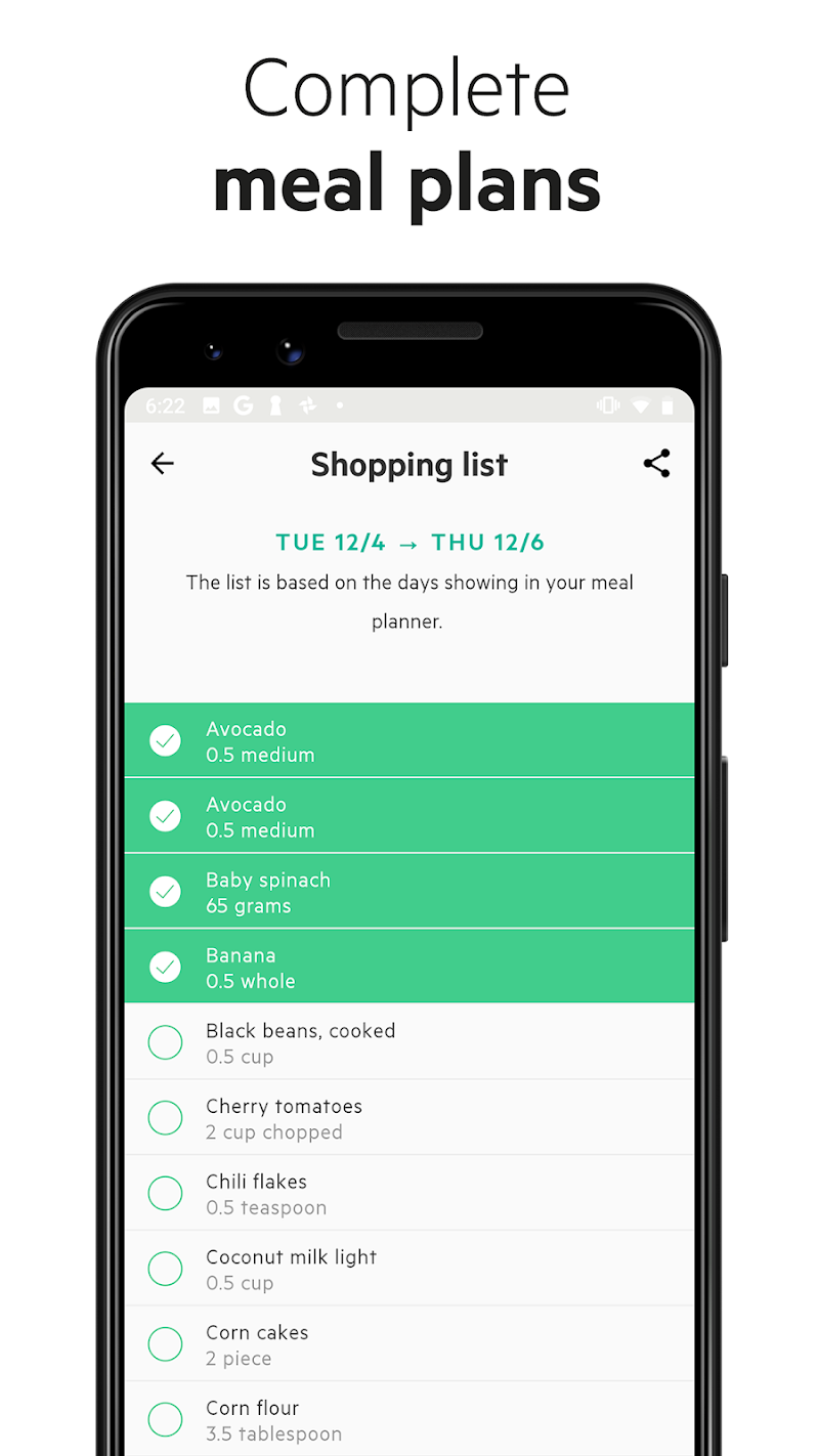 Lifesum - Diet Plan, Macro Calculator & Food Diary Screenshot 5