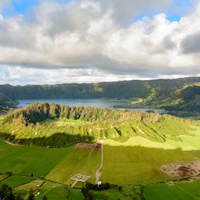 Sete Cidades, Azores  by Martín Silva Cosentino - Landscapes Mountains & Hills ( sao miguel, volcanes, sete cidades, portugal, azores,  )