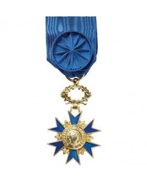 Médaille Ordre Natonale du Mérite