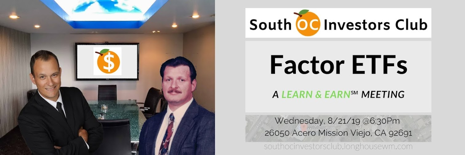 🍊South OC Investors Club - August 21 Meeting