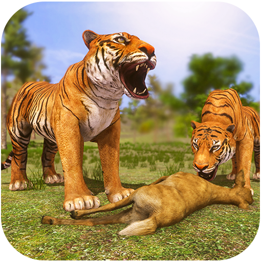 Angry Tiger Family Simulator: Tiger Attack