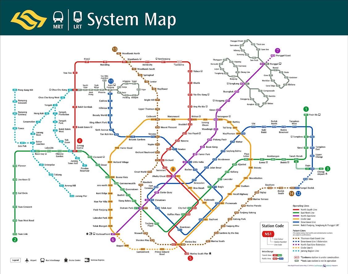 map mrt singapore