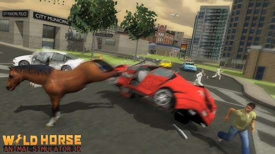 Wild Horses 3D Adventure: Animal Simulator Game - náhled