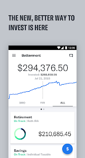 Betterment- screenshot thumbnail