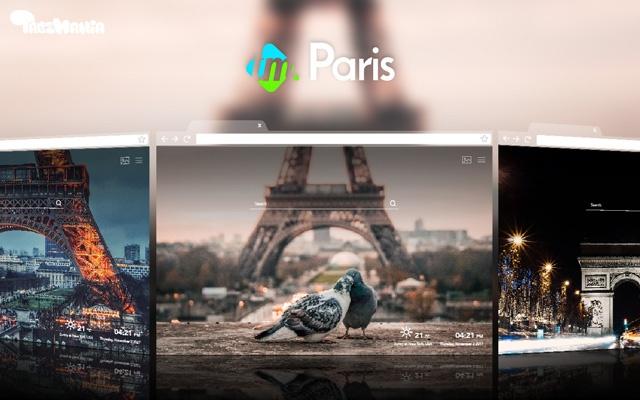 Images of Paris Wallpaper New Tab