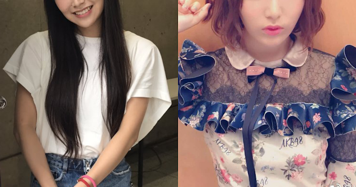 These are the two AKB48 members confirmed for upcoming