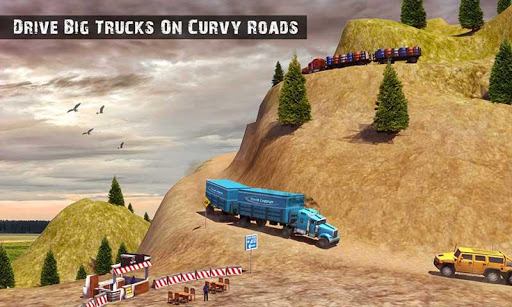 USA Truck Driving School: Off-road Transport Games 1.10 screenshots 6