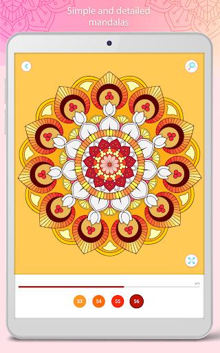 التلوين بالأرقام u2013 Mandala Book Screenshot 9