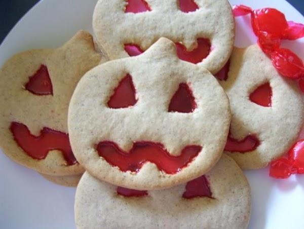 Giant Glowing Pumpkin Cookies Recipe